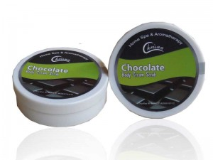 Body Cream Rasa Chocolate