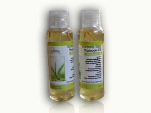 Massage oil Rasa Green Tea