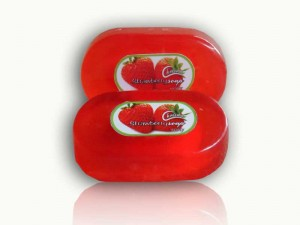 Natural Soap Rasa Strawberry