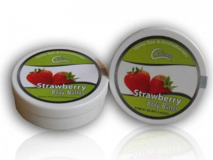 Body Butter Rasa Strawberry