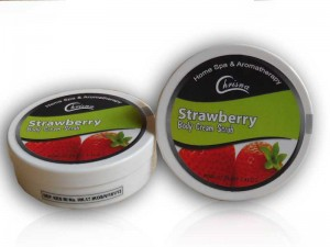 Body Cream Rasa Strawberry