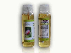 Massage oil Rasa Musk